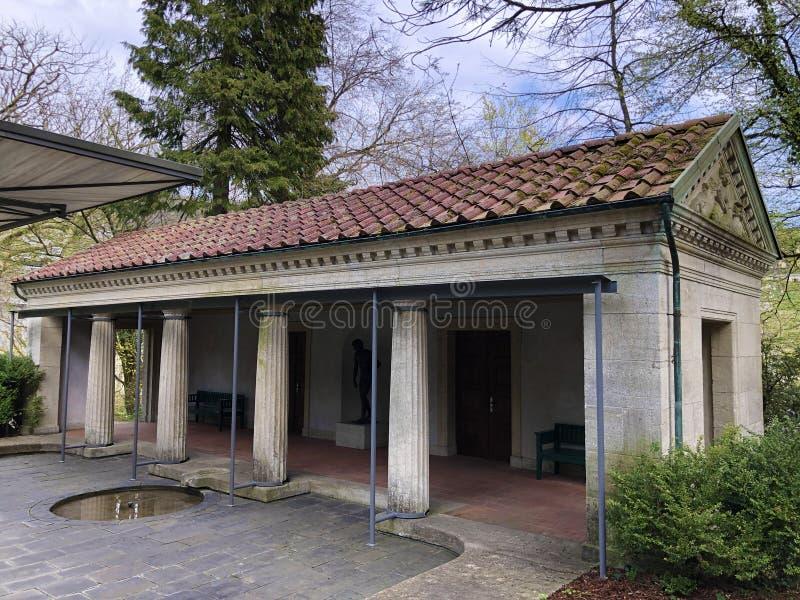 Villa Boveri Badehaus, Baden stock image