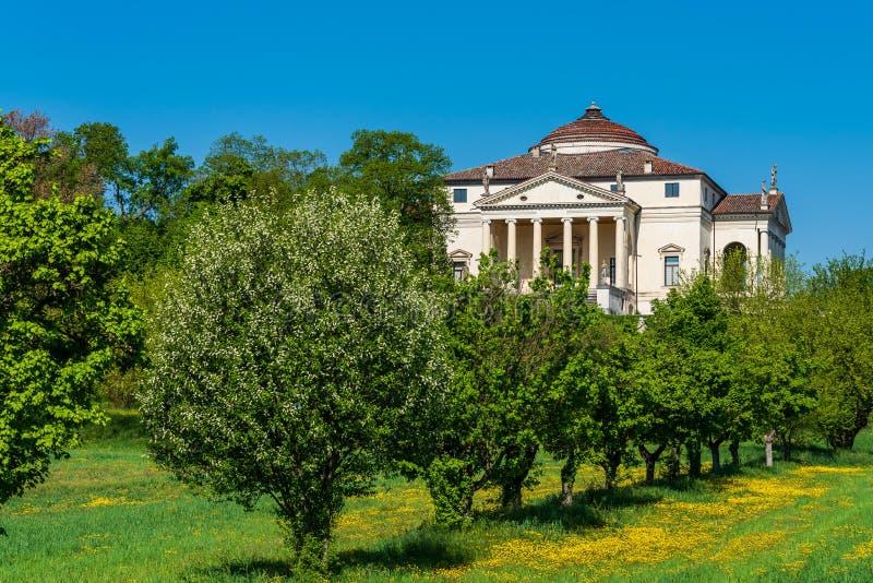 Villa Capra La Rotonda stockbild