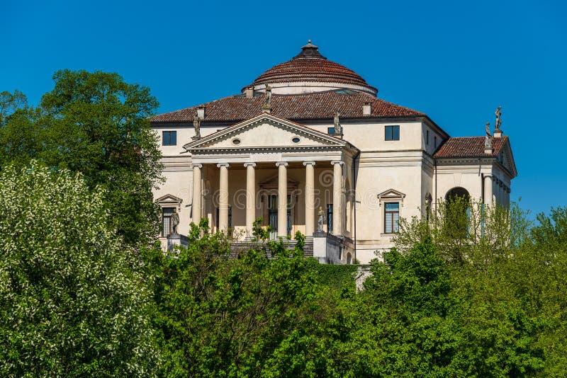 Villa Capra La Rotonda lizenzfreies stockbild