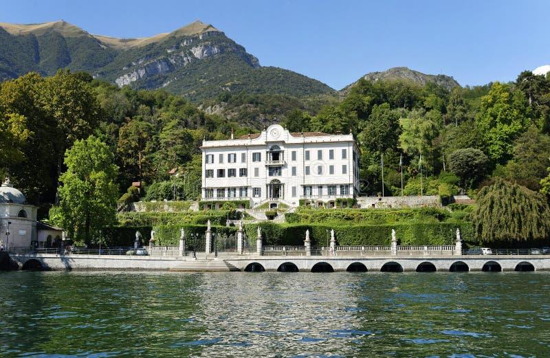 Villa Carlota dans Tremezzo, lac Como photographie stock