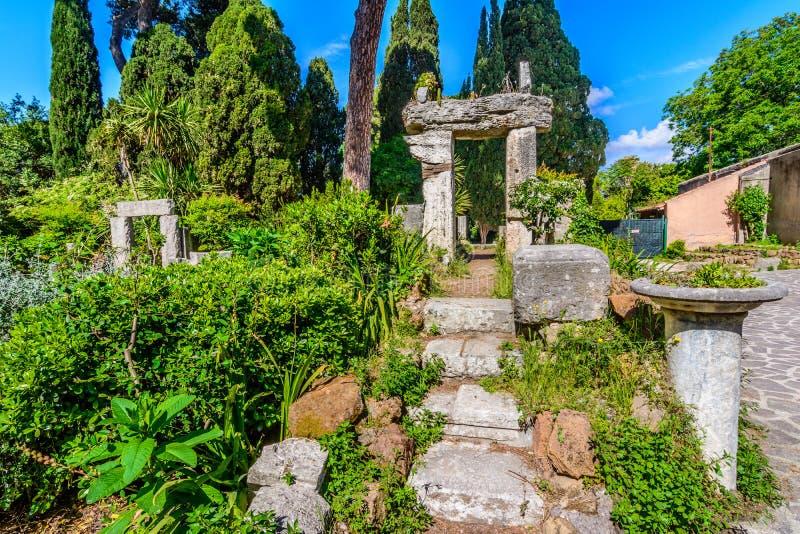 Villa Celimontana,Rome,Italy stock photo