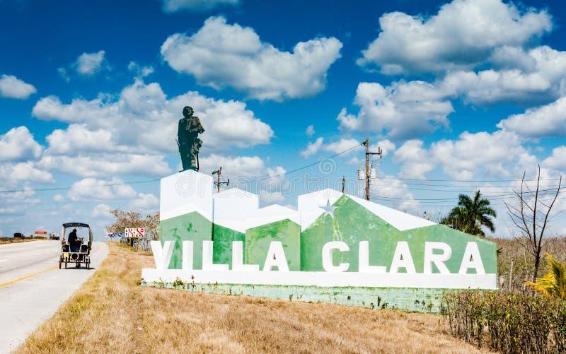 Villa Clara Sign photo libre de droits