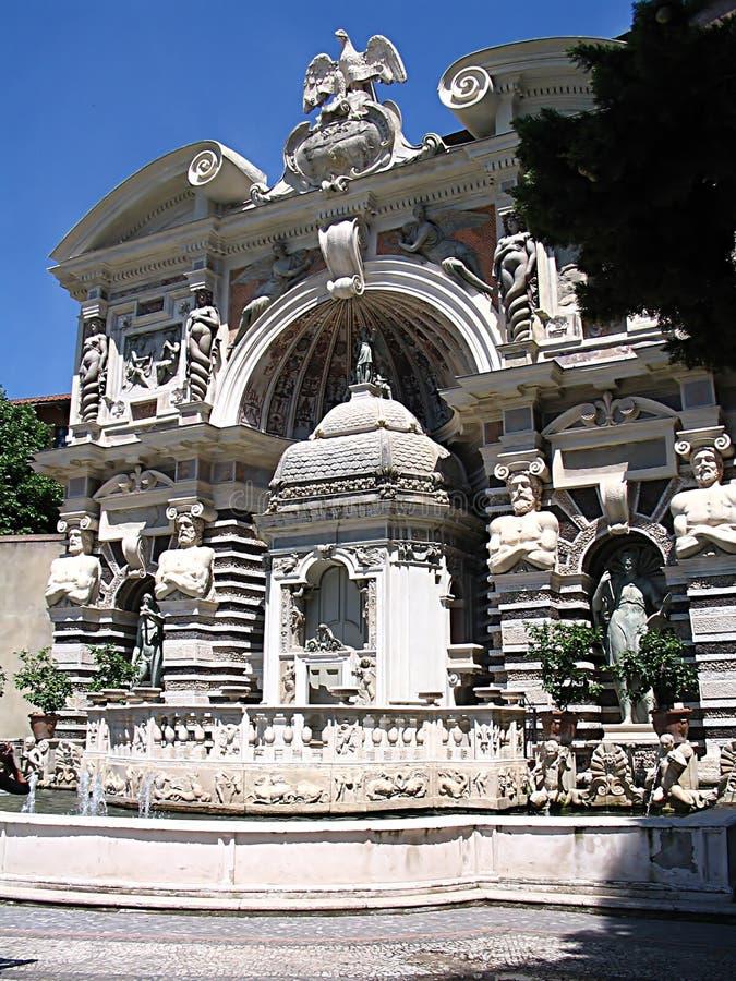 Villa d'Este photographie stock libre de droits