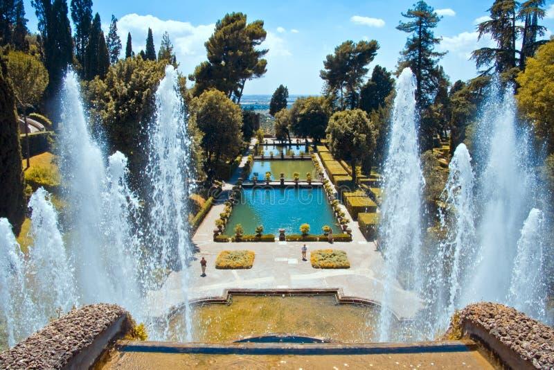 Villa d'Este stock images