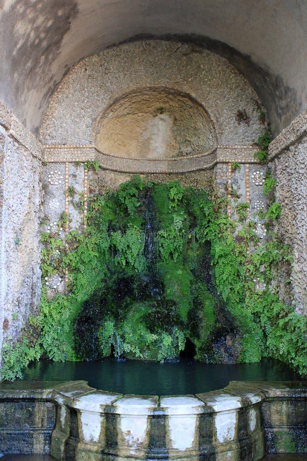 Villa D `Este, Tivoli stock foto
