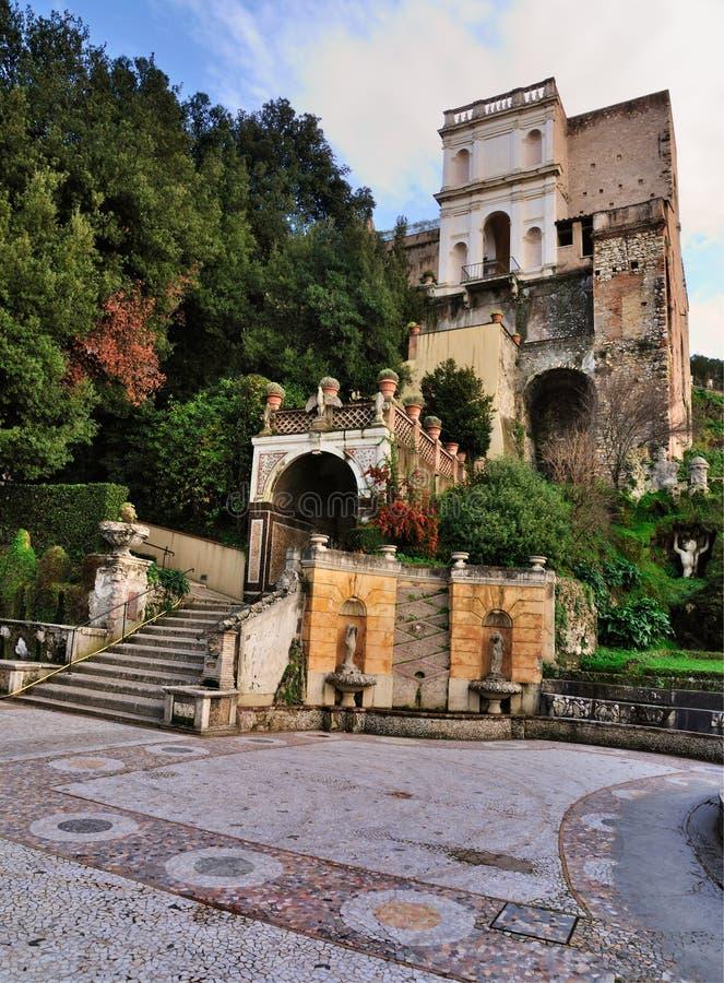 Villa d'Este, Tivoli, Italy royalty free stock photo