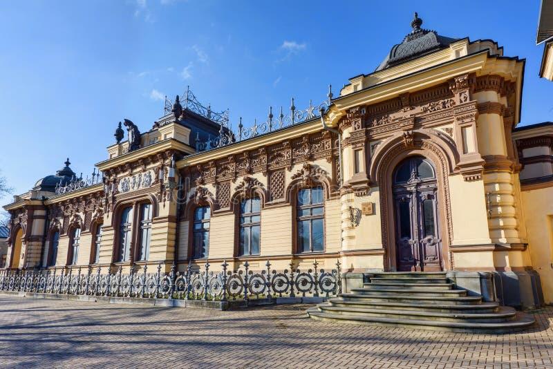 Villa de Herta au centre de la ville de chisinau image libre de droits