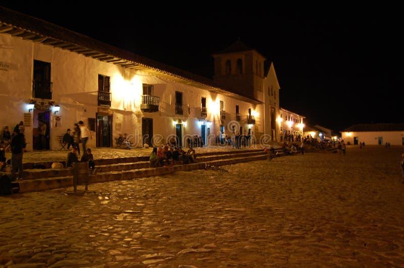 Villa DE Leyva, Colombia stock afbeelding