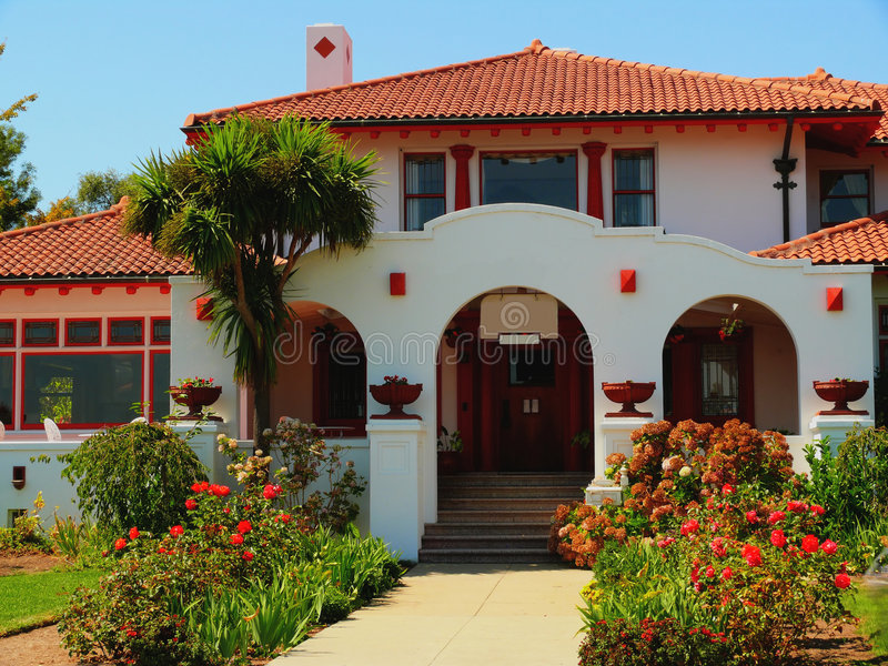 Villa de Mediteranian photos stock
