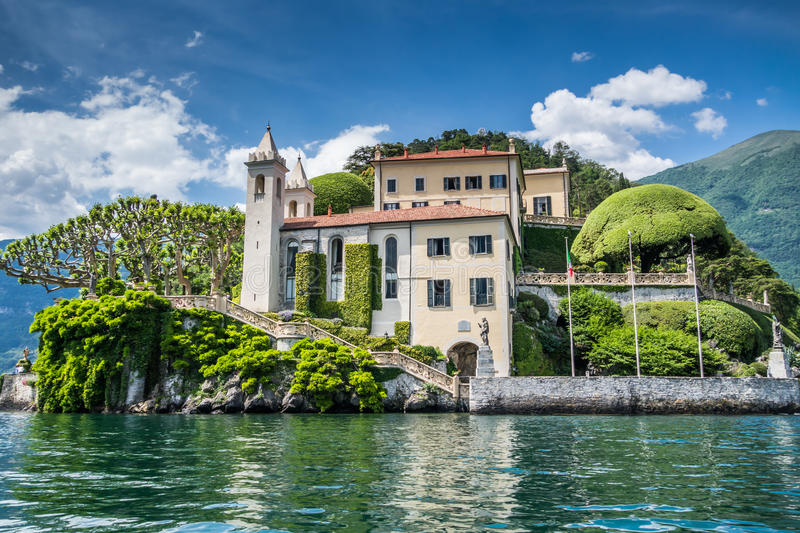 Villa del Balbianello photo stock