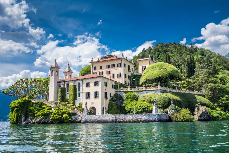 Villa del Balbianello stock afbeelding