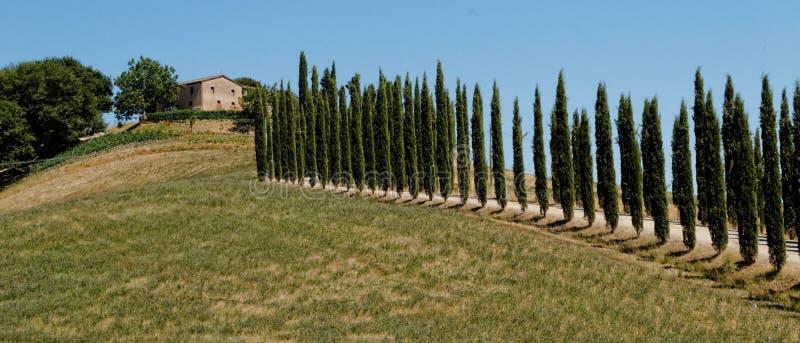 Villa della Toscana immagine stock libera da diritti