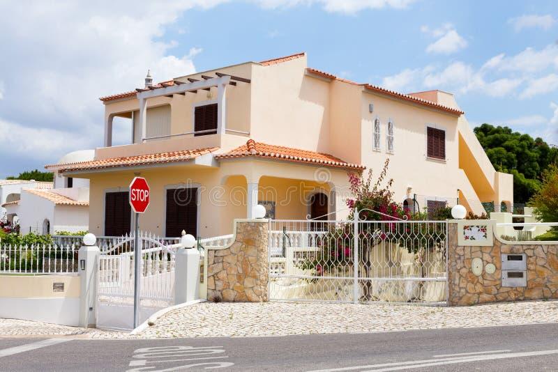 Villa di Algarve fotografia stock libera da diritti