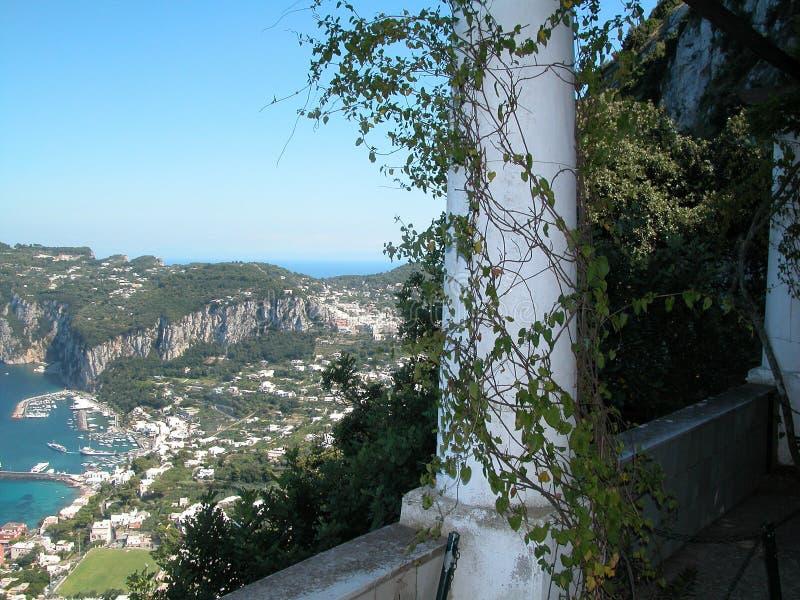 Villa di Capri fotografia stock libera da diritti