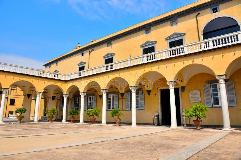 Villa du prince, Gênes, Italie photographie stock libre de droits