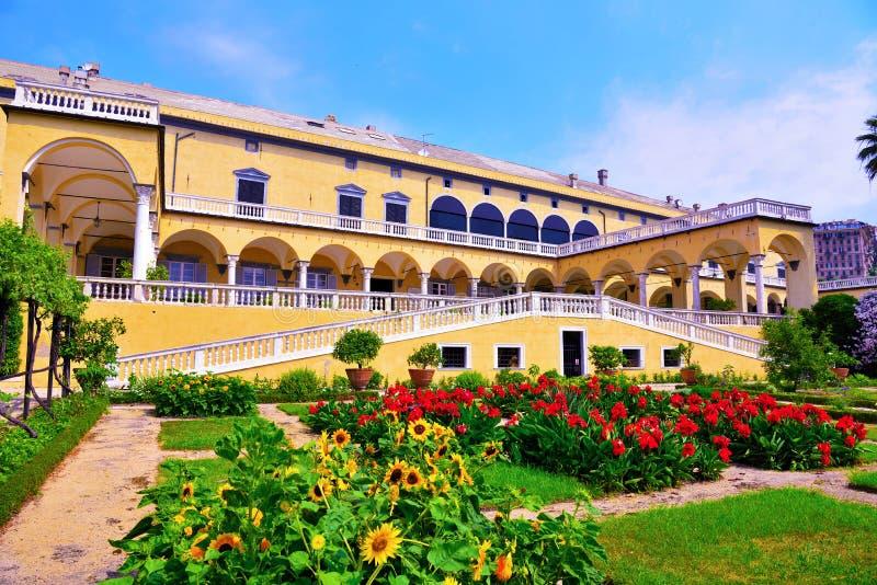 Villa du prince, Gênes, Italie image libre de droits