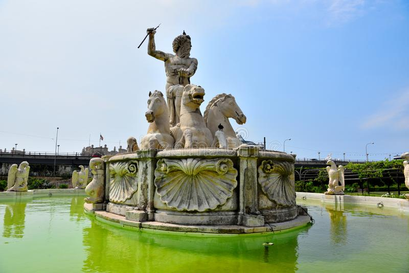 Villa du prince, Gênes, Italie photos libres de droits