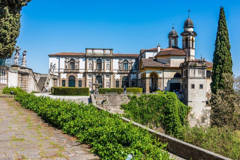 Villa Duodo in Monselice stock photos