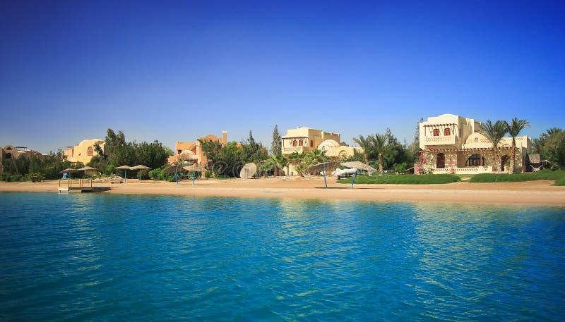 Villa. El Gouna. Egypt. royalty free stock photo