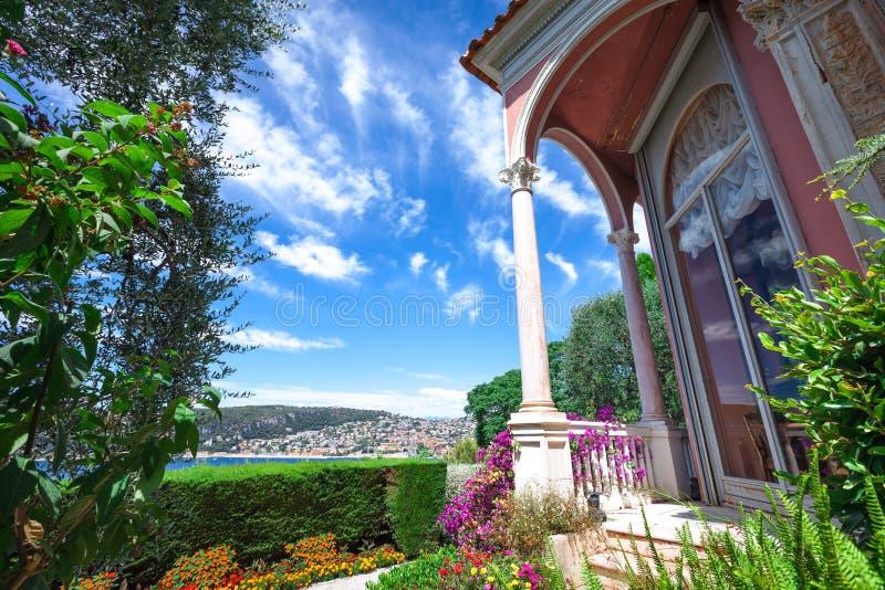 Villa Ephrussi de Rothschild stockbilder