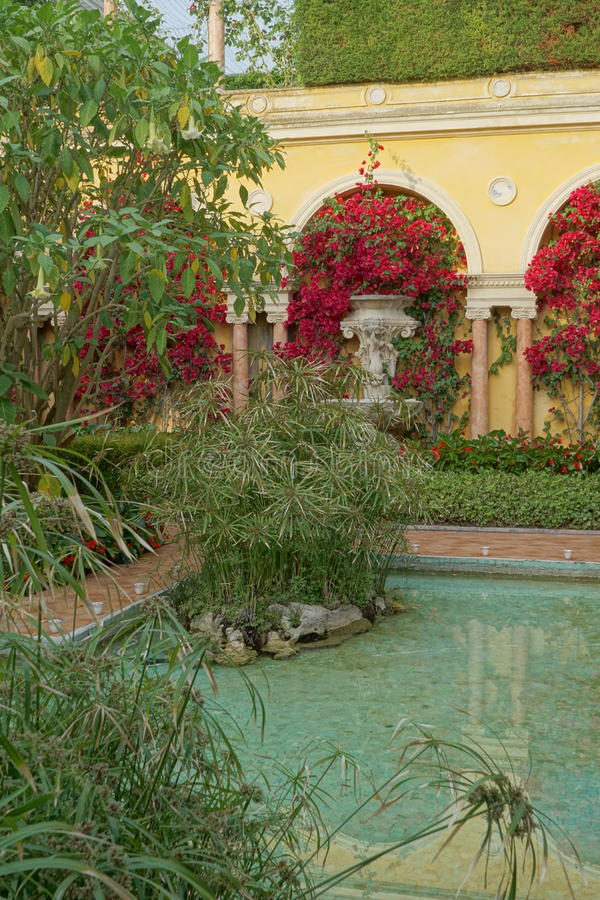 Villa Ephrussi de Rothschild royaltyfria foton