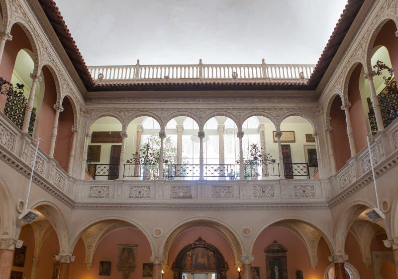 Villa Ephrussi de Rothschild, Heiliges Jean capFerrar, Frankreich lizenzfreies stockfoto