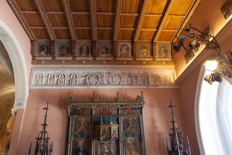Villa Ephrussi de Rothschild, Heiliges Jean capFerrar, Frankreich stockfotografie