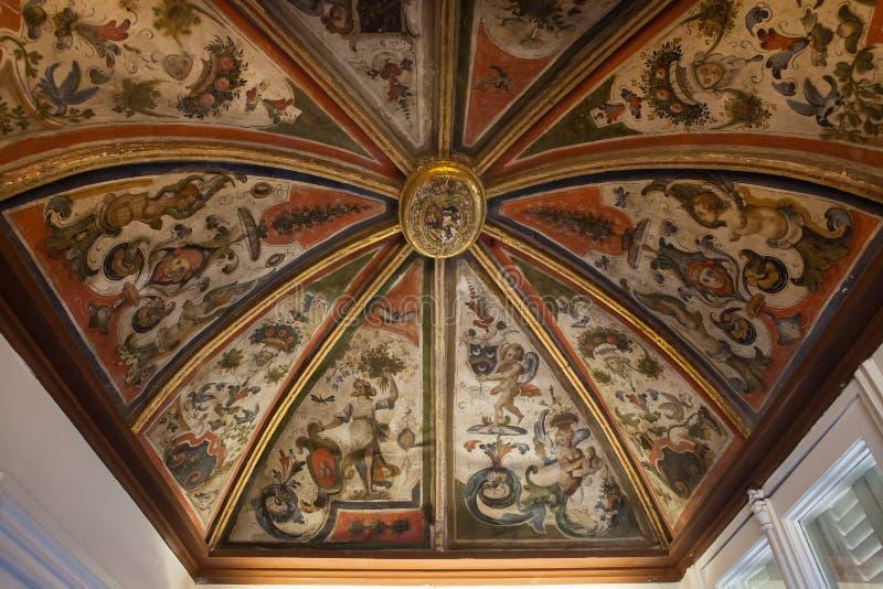 Villa Ephrussi de Rothschild, helgon capFerrar Jean, Frankrike arkivfoton