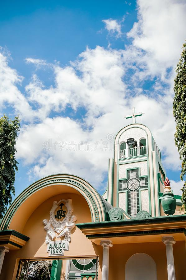 Villa Escudero, San Pablo, Philippines de musée photo stock