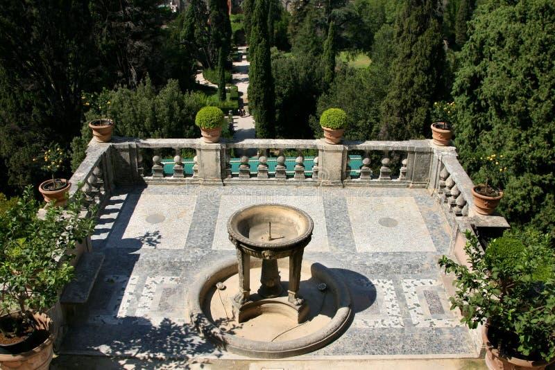 villa för D-estetivoli royaltyfria bilder