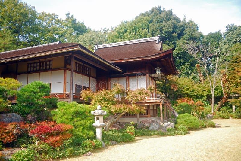 villa för japan kyoto okochisanso arkivfoto