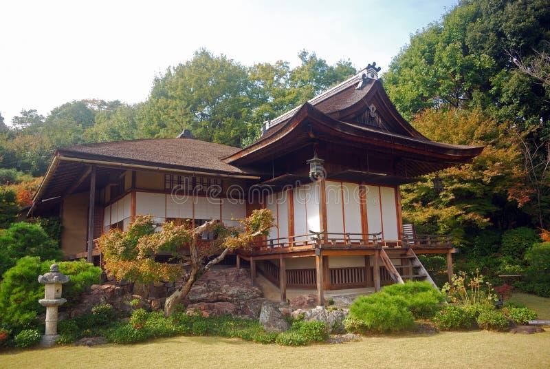 villa för japan kyoto okochisanso arkivfoton