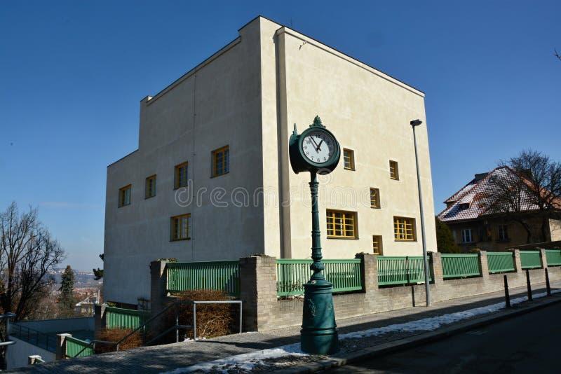 Villa för ` s för MÃ-¼ller - museum av huvudstaden av Prague arkivfoton