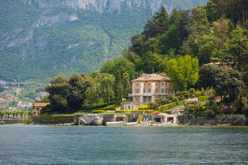 Villa Fanny in Bellagio royalty free stock photo
