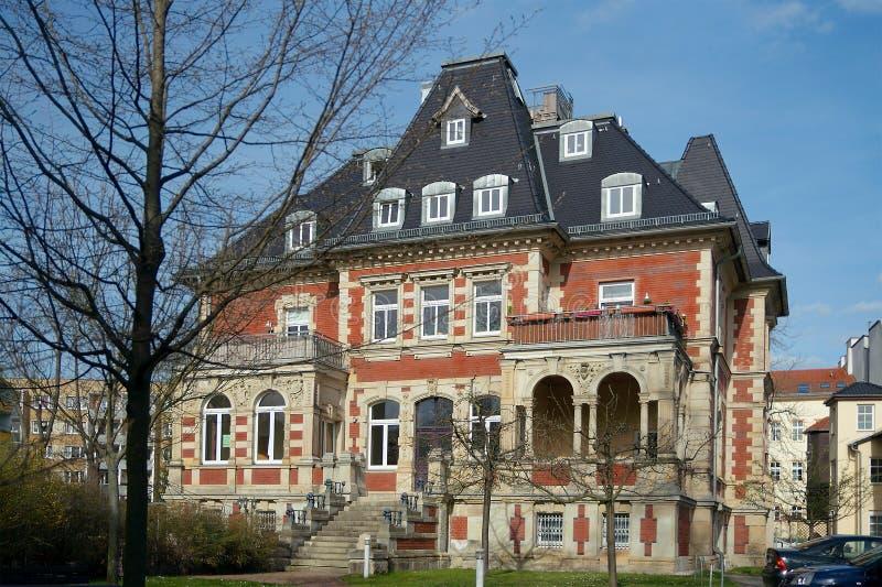 Villa Ferber, ville de Gera, Allemagne photo libre de droits