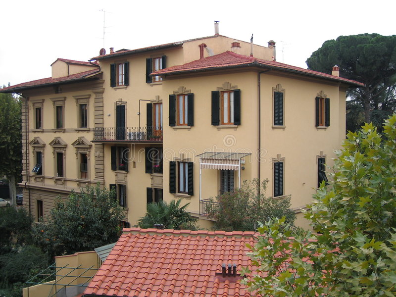 Villa In Florence Stock Photography