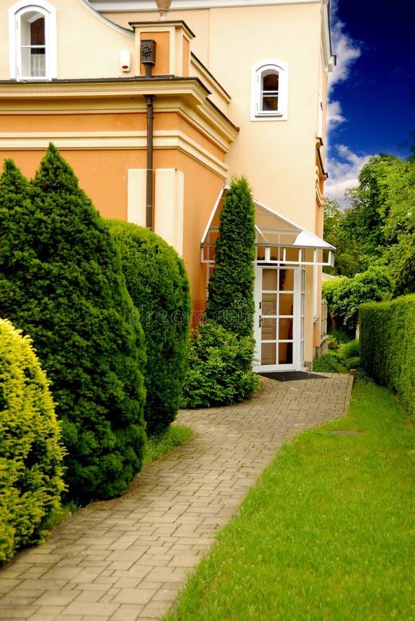 Download Villa and garden stock image. Image of garden, house, green - 9998651