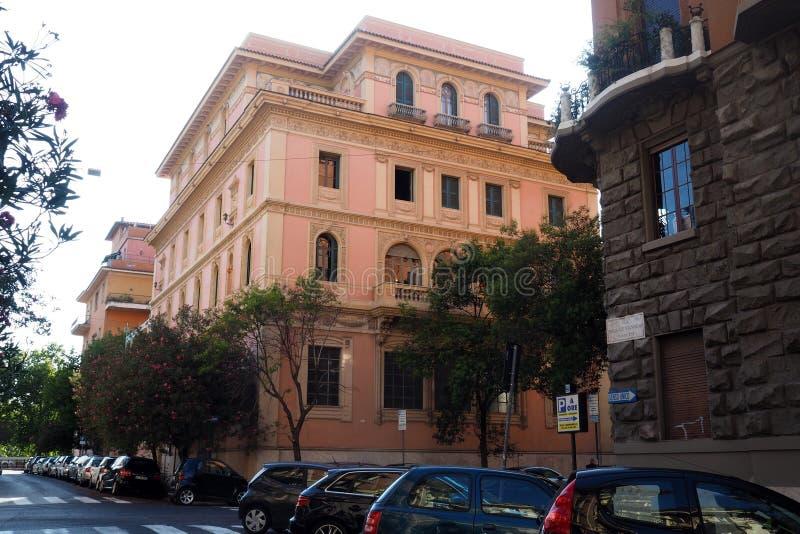 Villa Hélène à Rome, Italie image stock