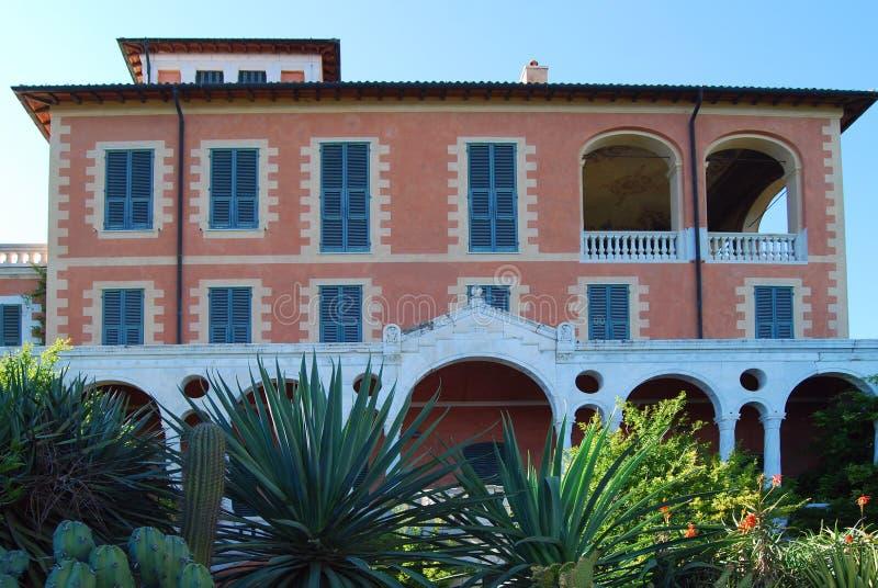 Villa Hanbury stock images