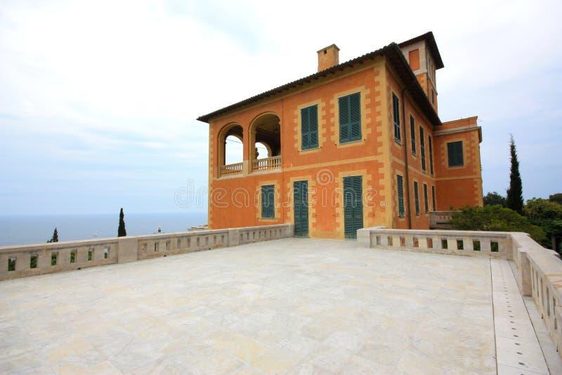 Villa Hanbury botanic garden, Italy royalty free stock images
