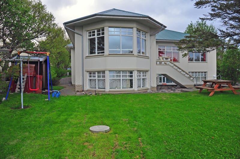 Villa islandaise image libre de droits