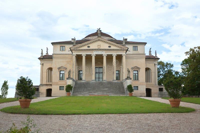 Villa La Rotonda stock photo