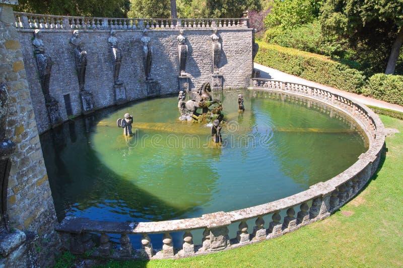 Villa Lante. Bagnaia. Lazio. Italien. arkivbilder