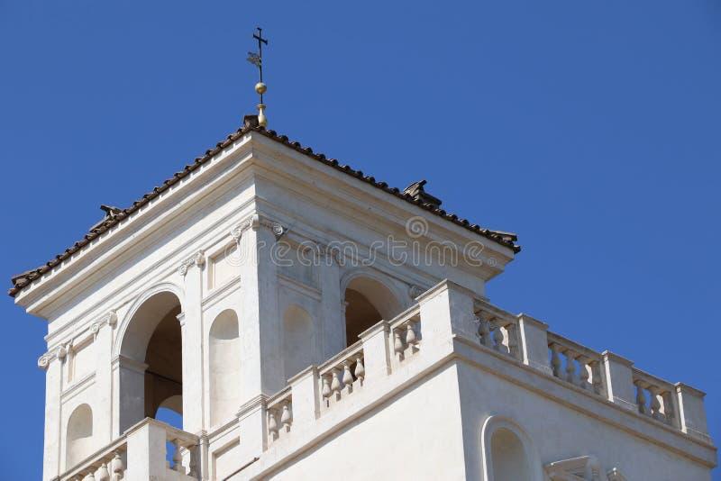 Villa Medici arkivbilder