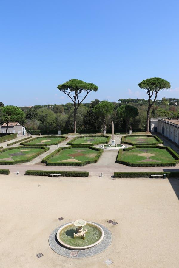 Villa Medici arkivfoto
