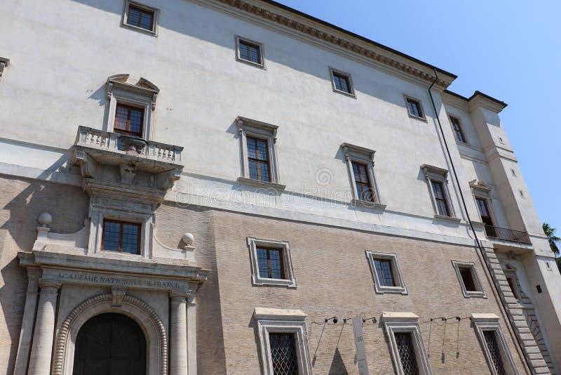 Villa Medici royaltyfria bilder