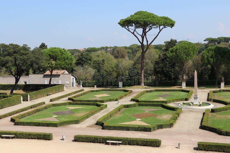 Villa Medici royaltyfri bild
