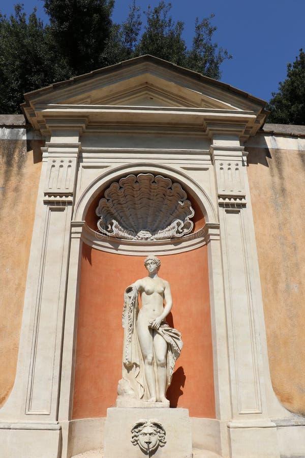 Villa Medici royaltyfri fotografi