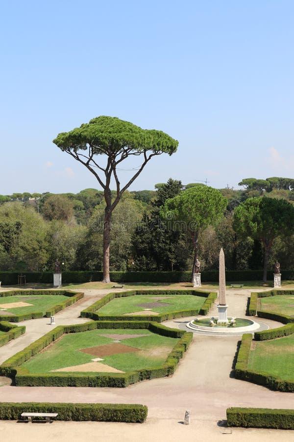 Villa Medici royaltyfri foto