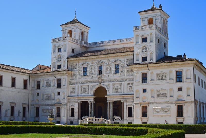 Villa Medici a Roma immagine stock libera da diritti
